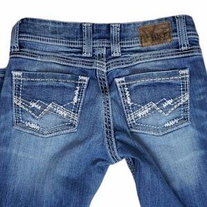 BKE Denim Culture Boot Cut Jeans 26S